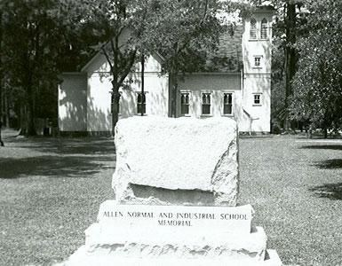 Allen Normal and Industrial School's Memorial Landmark, 1122 Lester Street