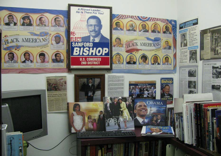 Congressman Sanford D. Bishop, Jr., Museum Resource Library.