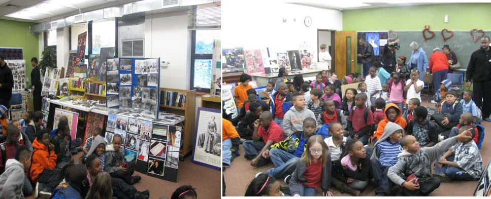 The museum curator takes its traveling exhibit to schools outside the surrounding communities to share with students the rich history of African Americans and their accomplishments in America. The above is an Afterschool program at the Monticello, Florida Public Library.