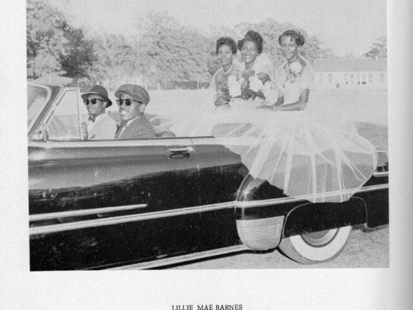 Miss Douglass Lillie Mae Barnes 1955