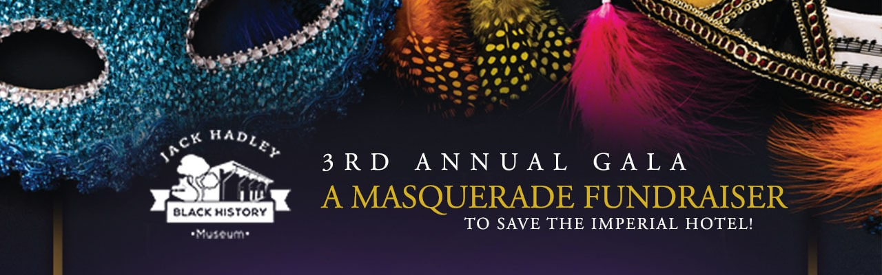3rd Annual Gala: A Masquerade Fundraiser to Save the Imperial Hotel